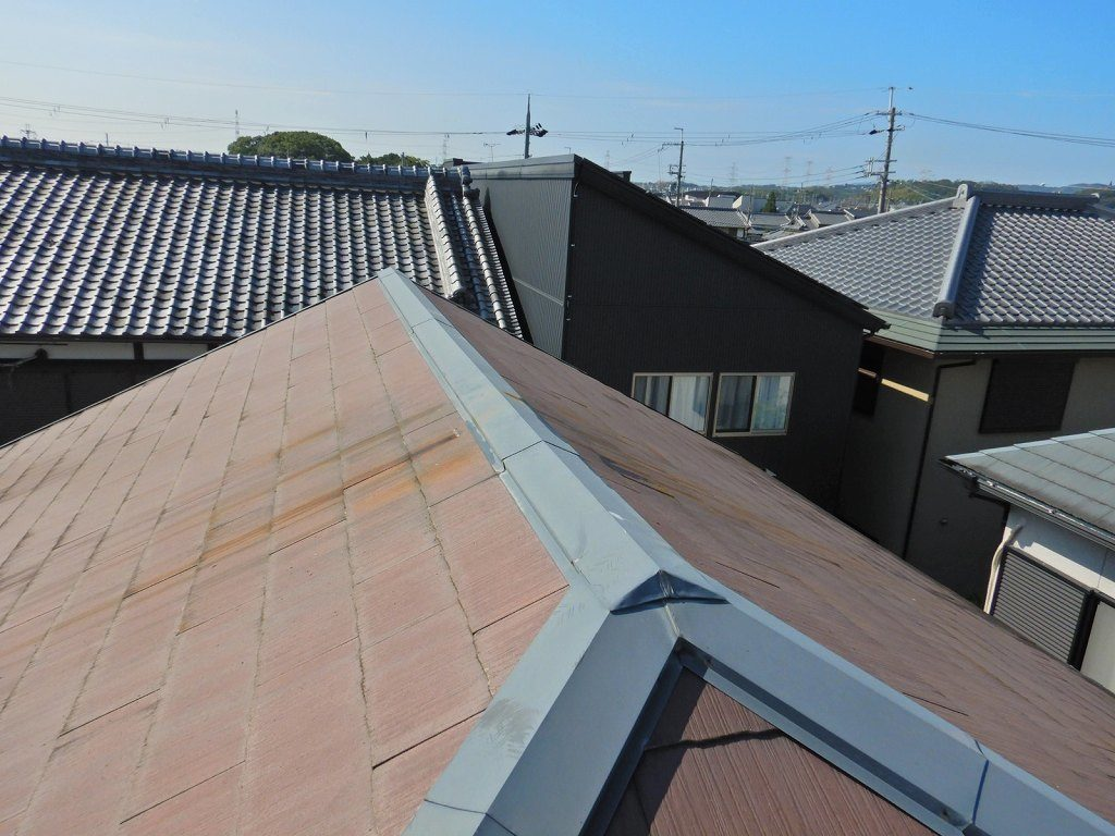 2 工事後 アンテナを撤去して屋根もスッキリしました