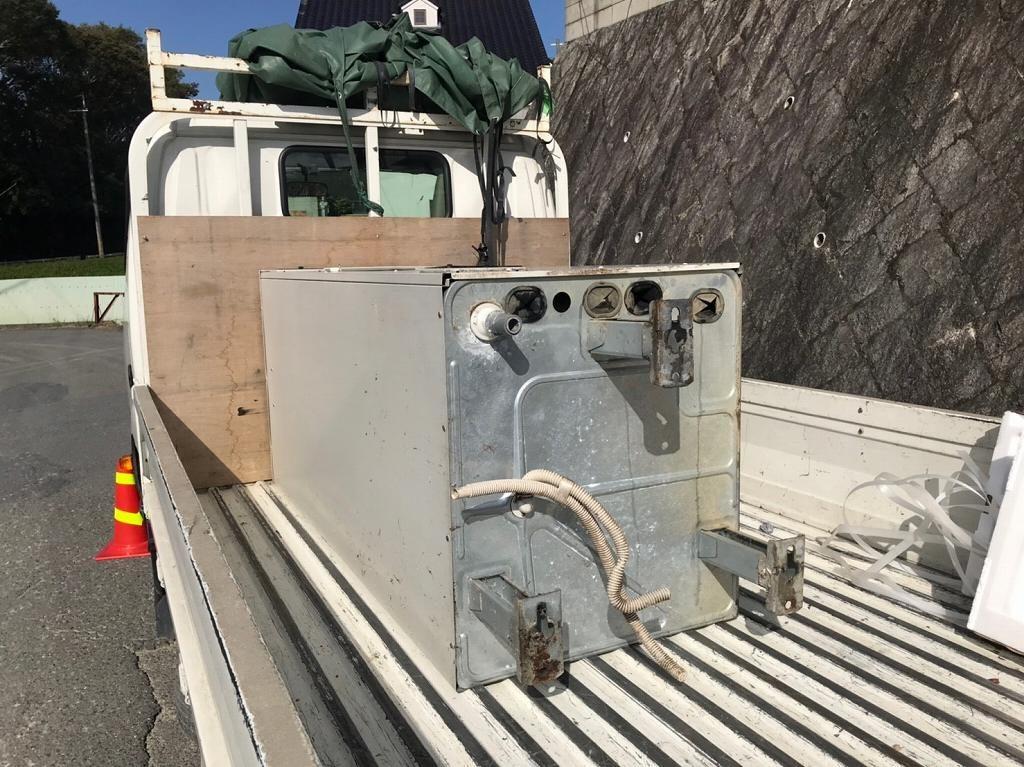 三菱電気温水器の撤去