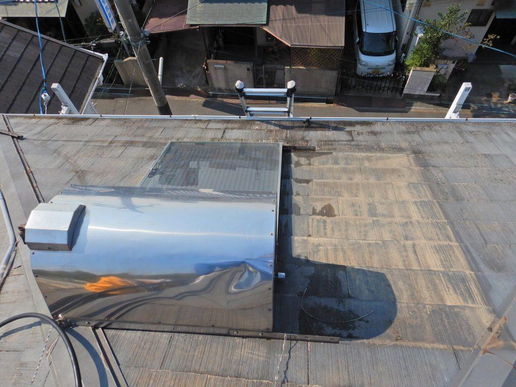 温水ソーラーを分解