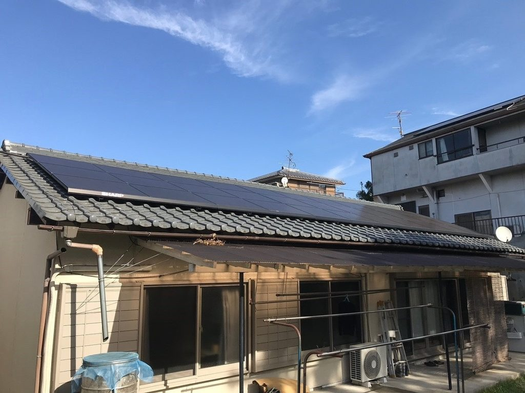 シャープ太陽光発電 NU-172BB