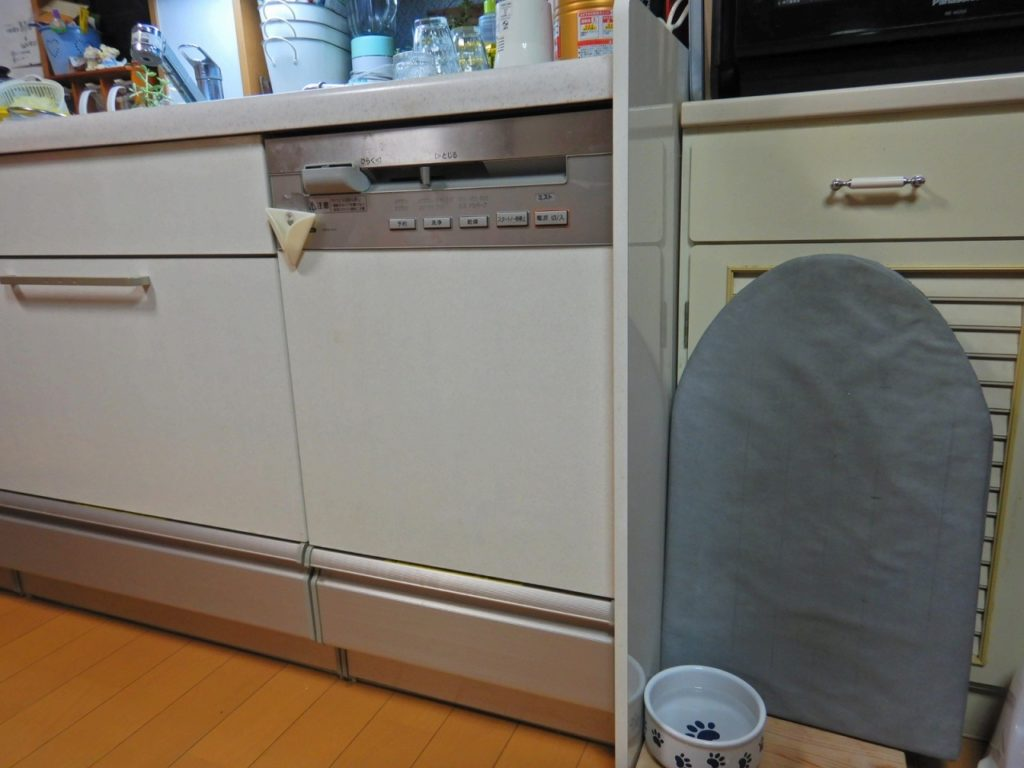 食洗機の入替工事