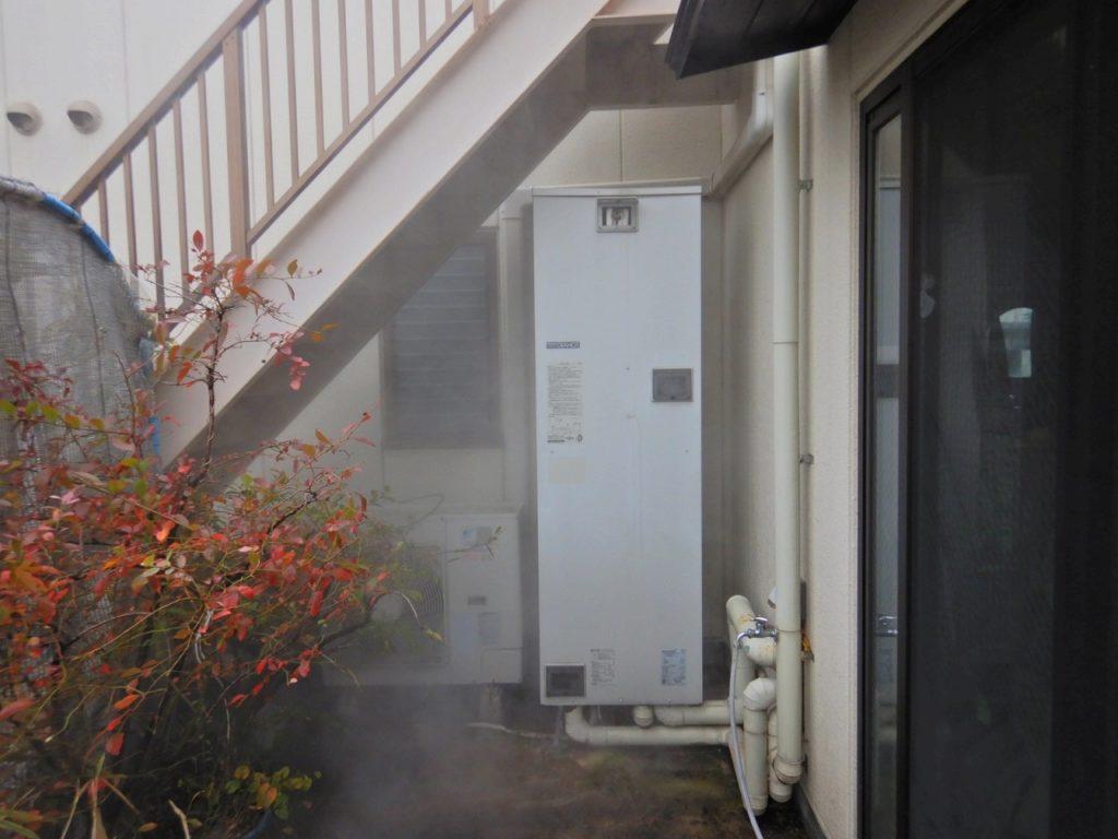 電気温水器の取替