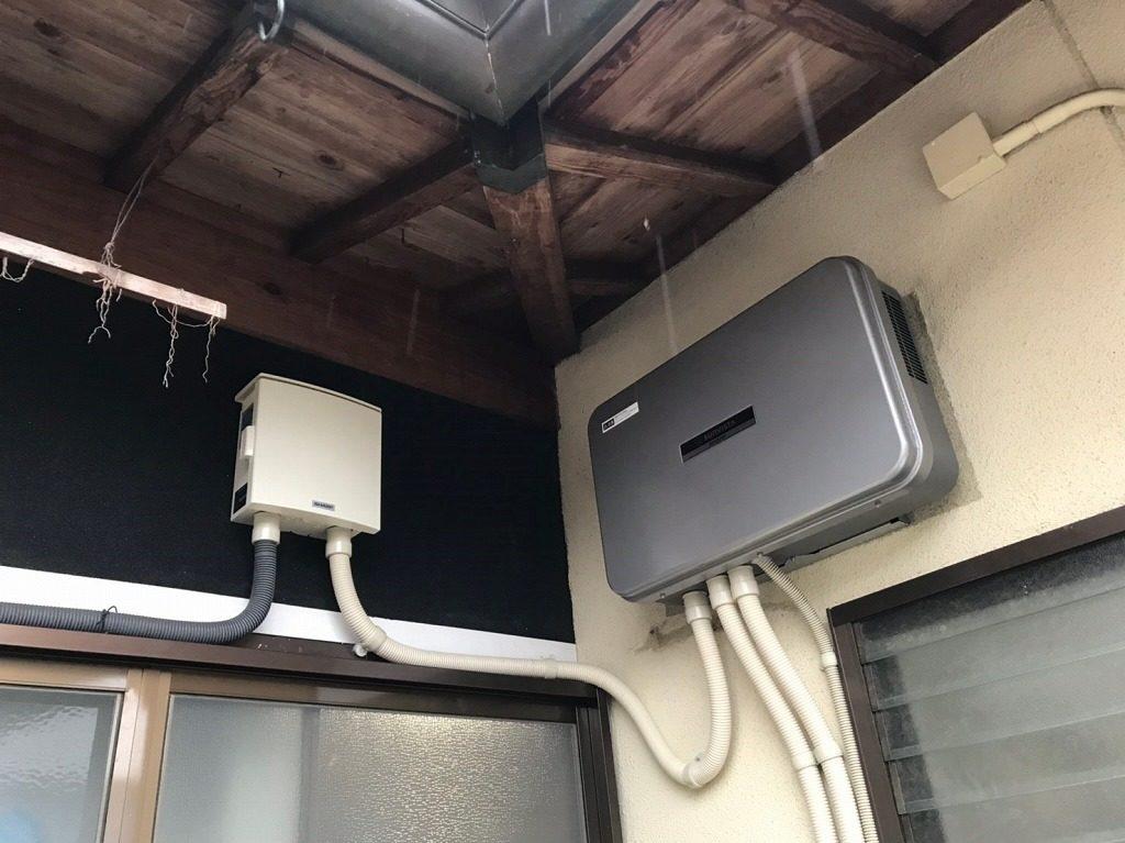 ハイブリッドパワーコンディショナーと接続箱