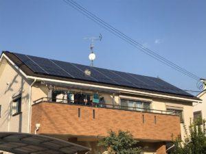太陽光発電システムを設置