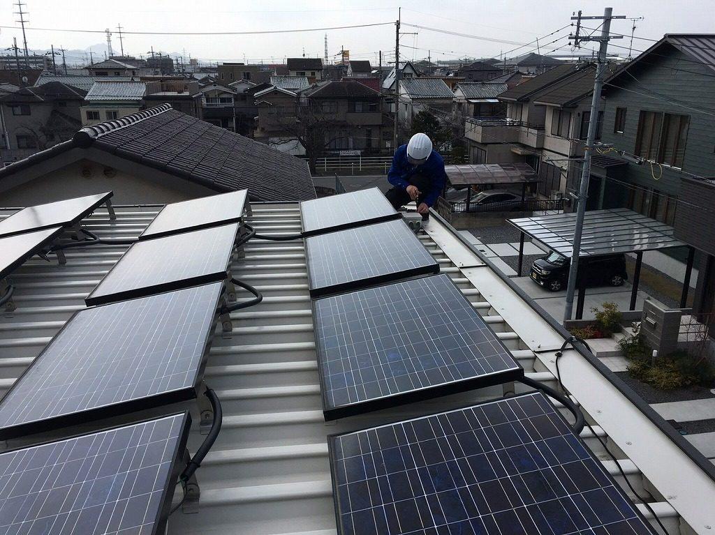 シャープ太陽光発電 セキスイ