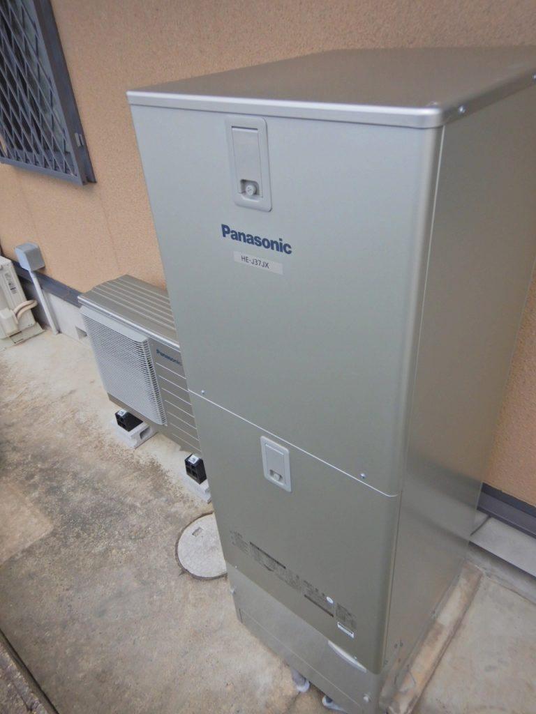 酸素エコキュートの設置