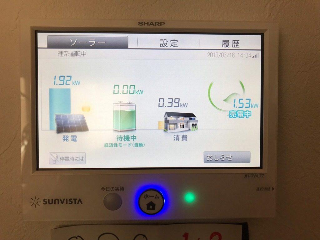 蓄電池用モニター