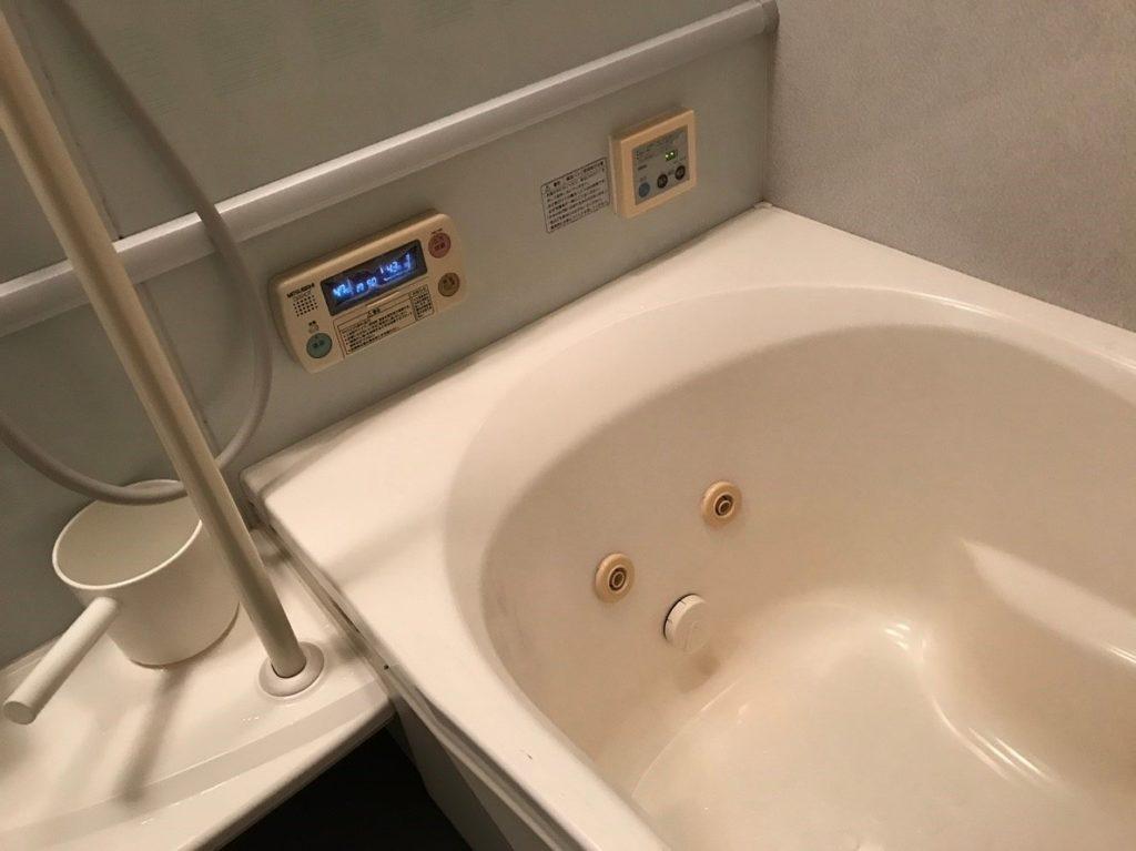 三菱電気温水器のお風呂