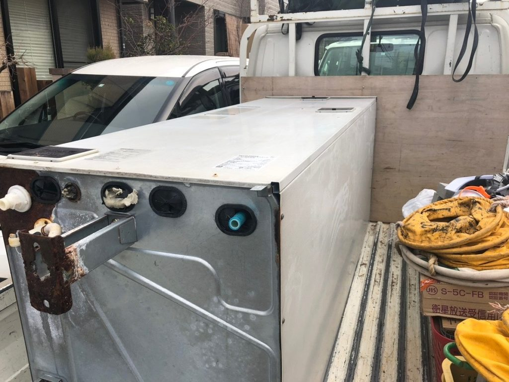 三菱 電気温水器交換