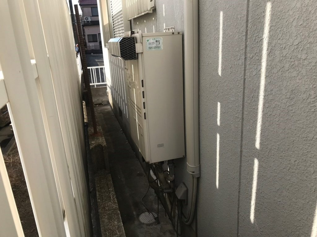 ガス給湯器の故障
