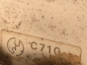 TOTO トイレ便器 C710