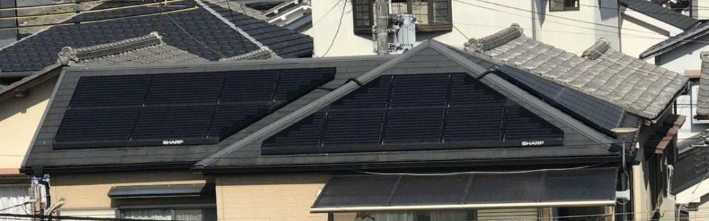 シャープ 太陽光を設置済み