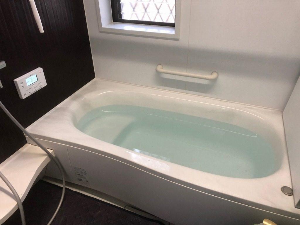 お風呂の湯張り点検