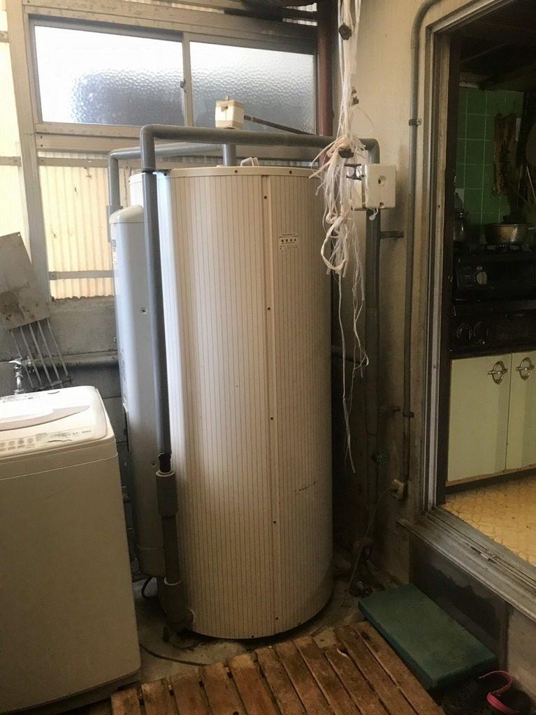 三菱丸型電気温水器