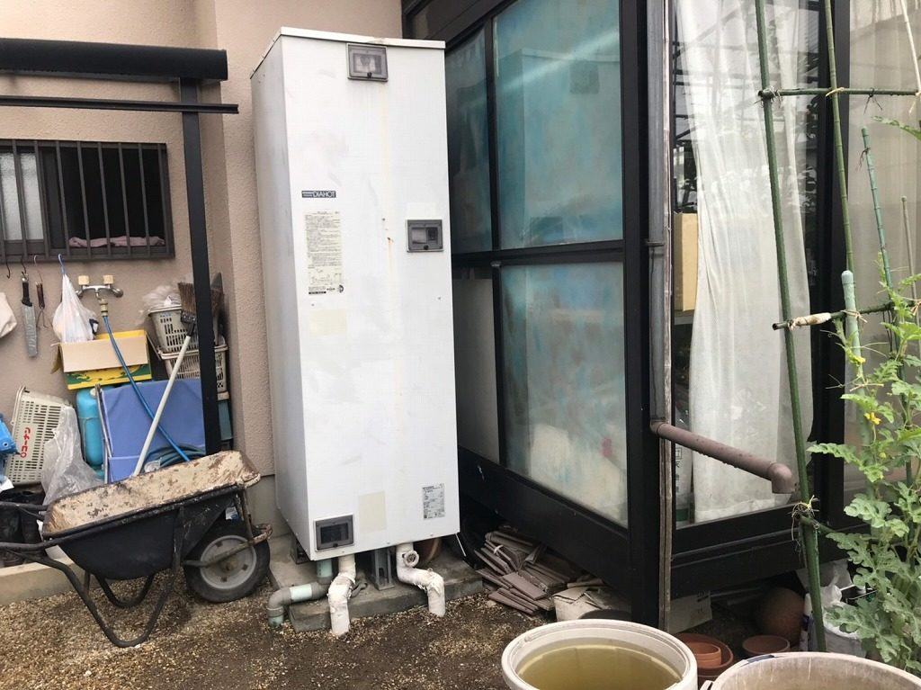 三菱 電気温水器 故障