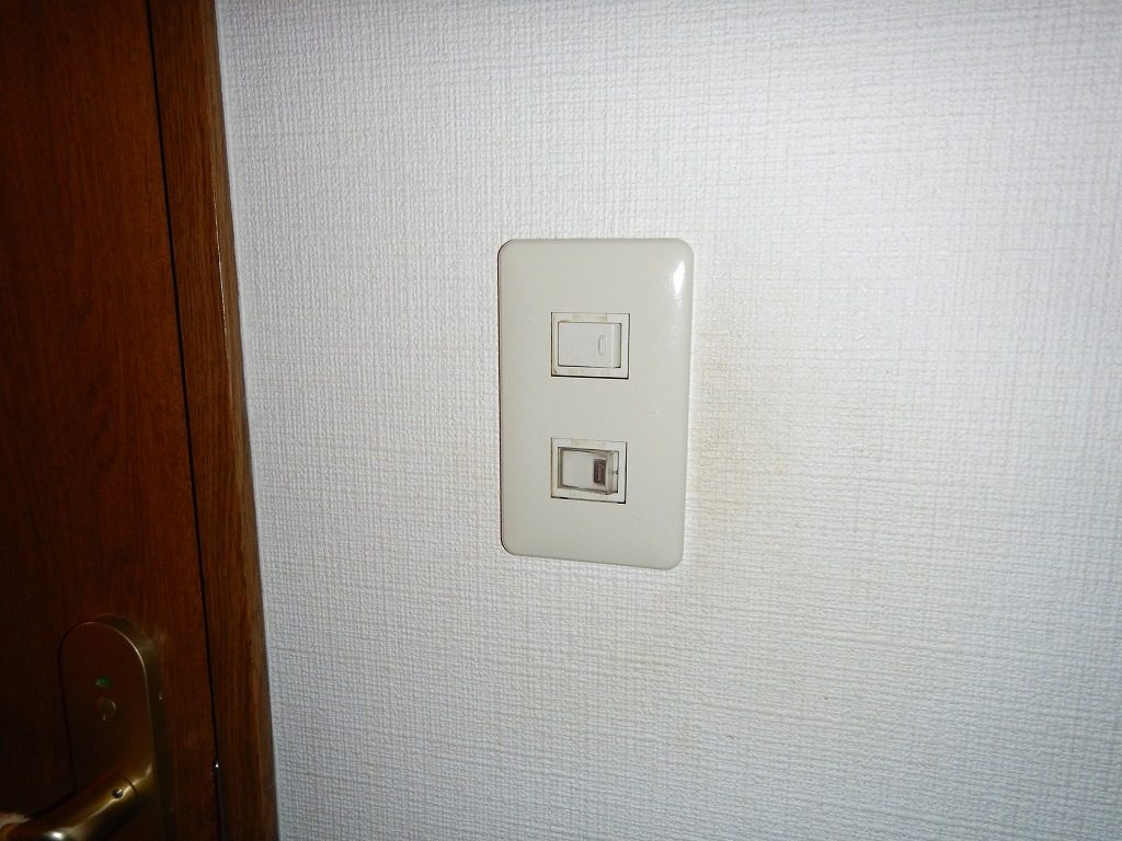 トイレの照明がつかない