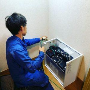 蓄電池補助金を活用した施工事例