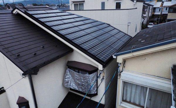 京セラサムライ太陽光発電
