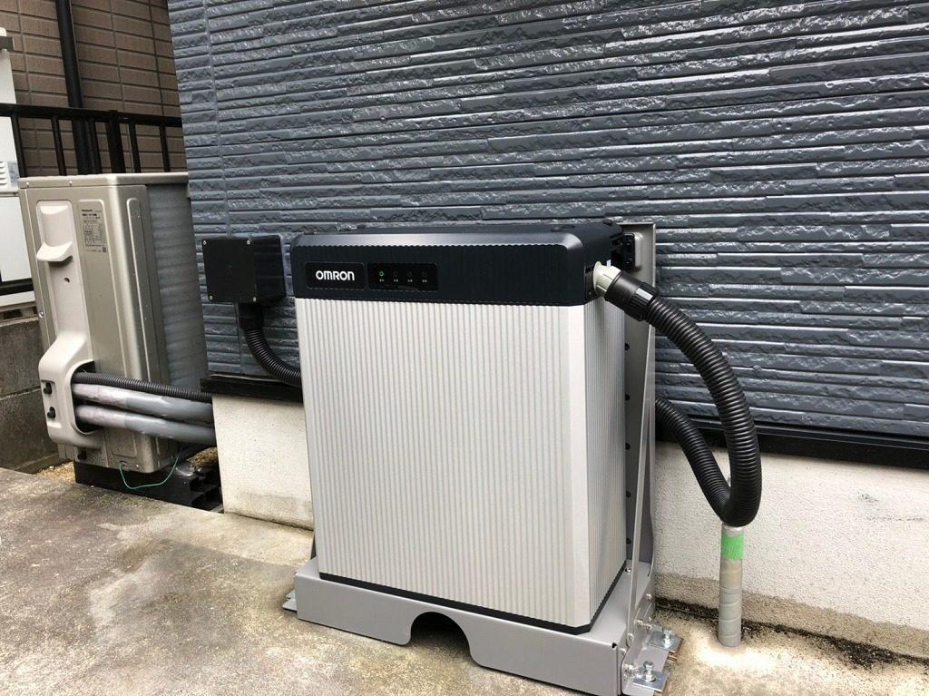 オムロン屋外用9.8kWh蓄電池