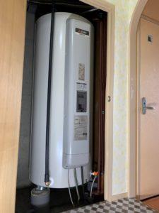 マンションの電気温水器