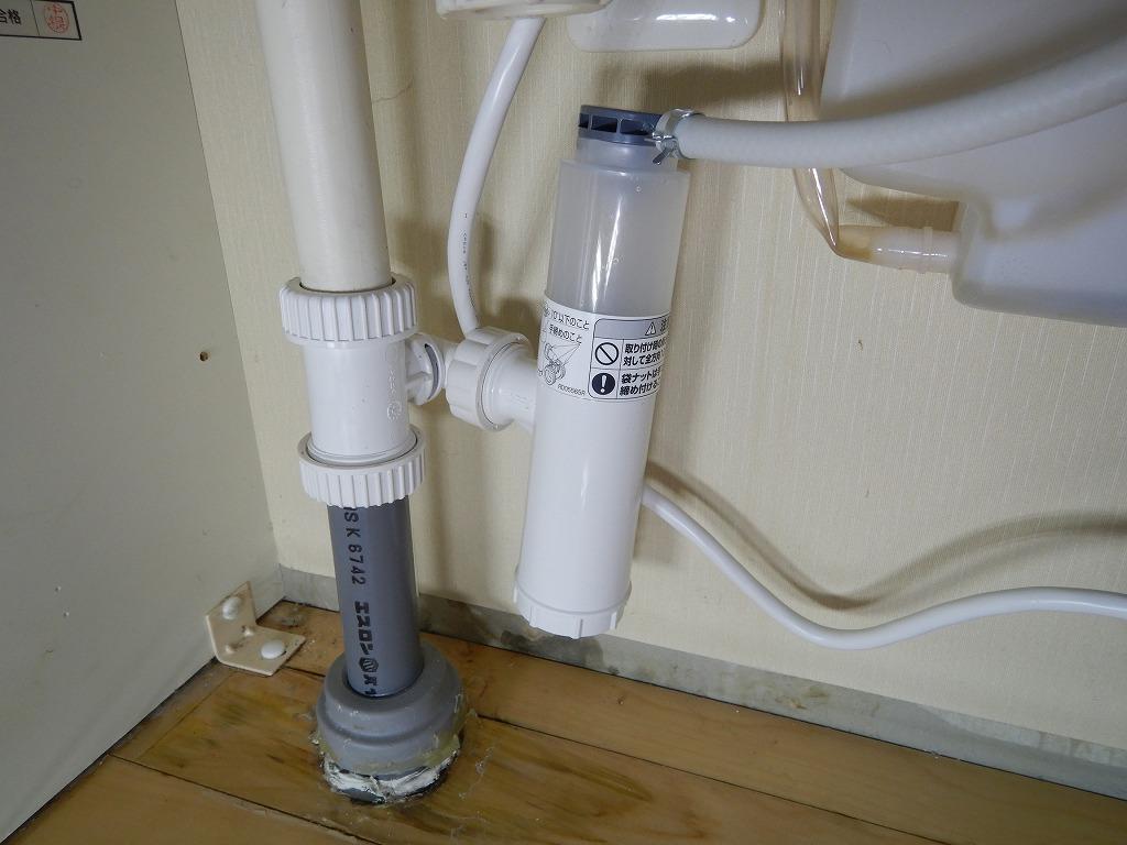排水パイプの交換