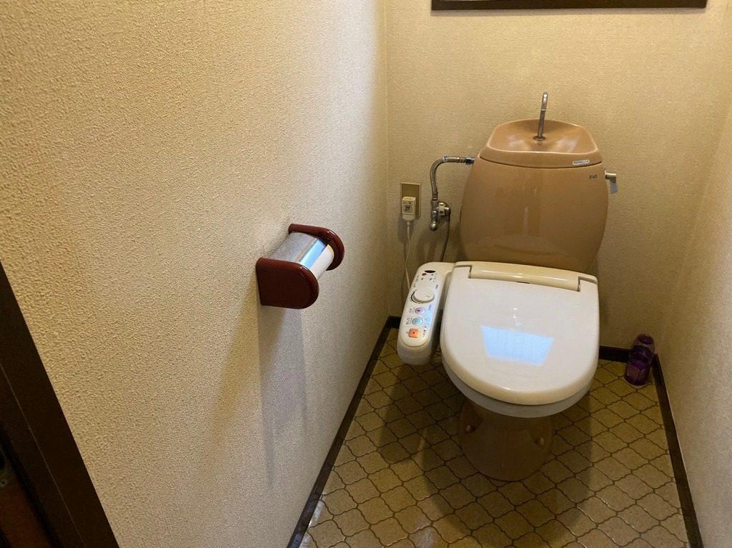 トイレの入れ替え