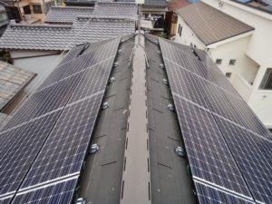 太陽光パネルを東西設置