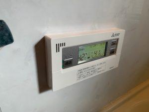 三菱 エコキュート浴室リモコン」