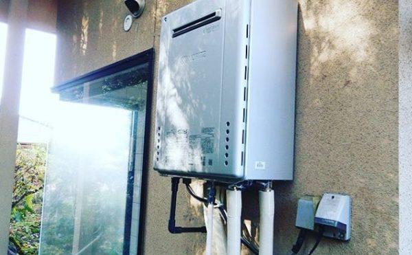 ガス給湯器交換工事