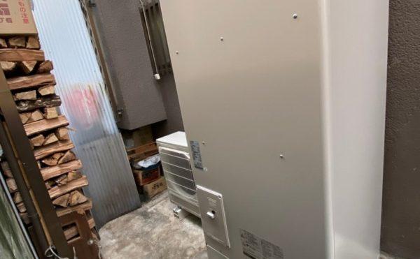 電気温水器からエコキュート