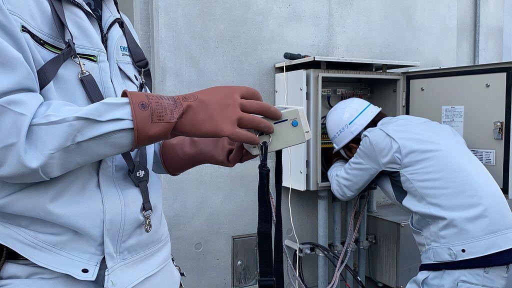 IVで発電能力のチェック