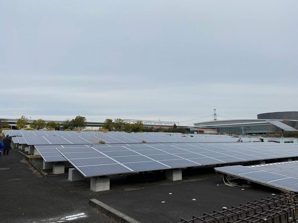 精華町の太陽光発電所