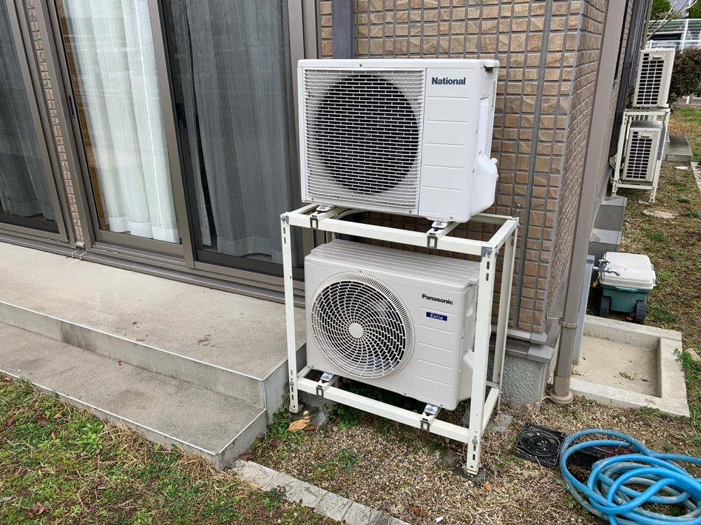 エアコンの取替え工事