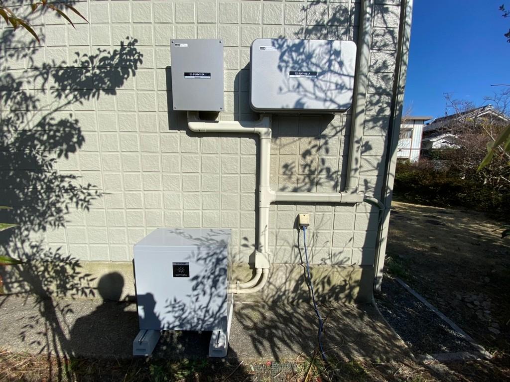 シャープ家中まるごと停電対応蓄電池