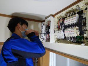 電気配線のチェック