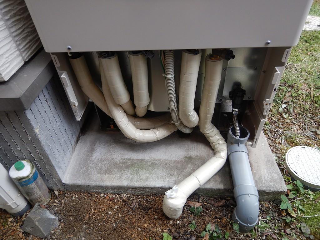 配管の放熱ロスを防ぐ