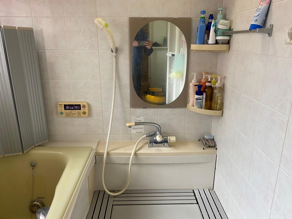 浴室の蛇口の交換修理