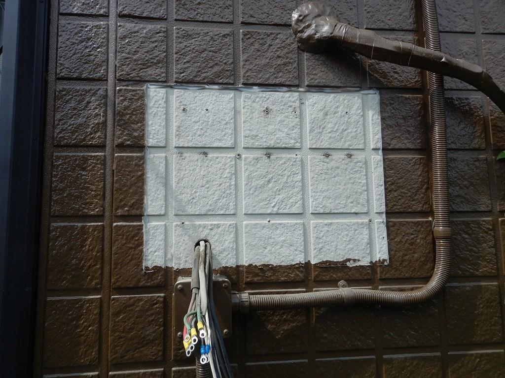 外壁塗装の後