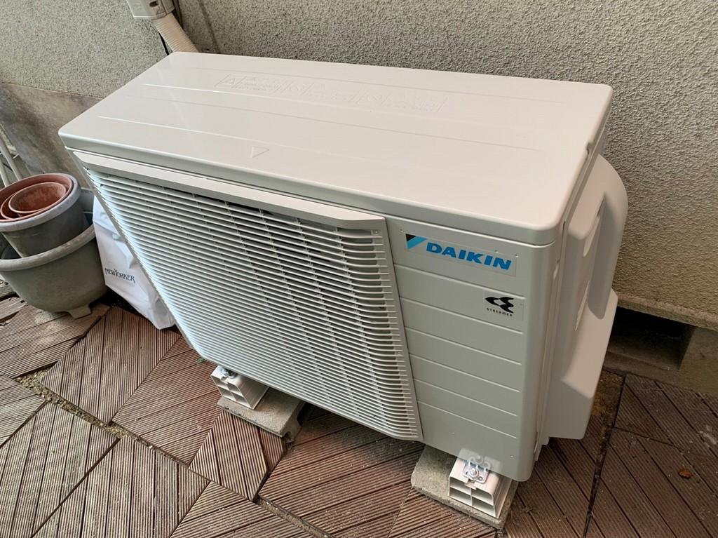 14畳エアコンの室外機