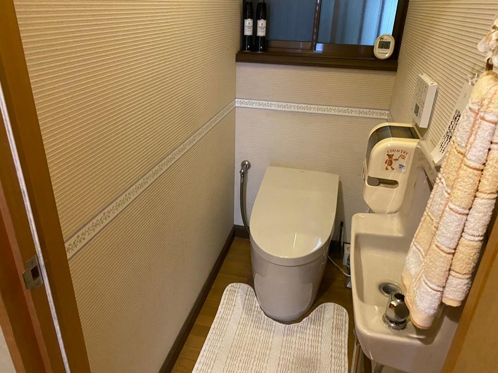トイレ手すり工事