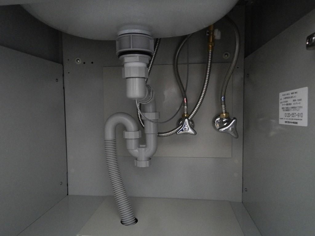 配管の接続状態