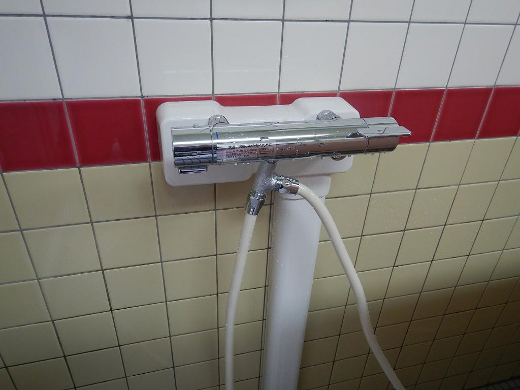 シャワー専用混合栓