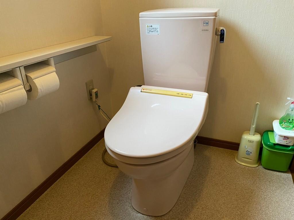 TOTOの古いトイレ