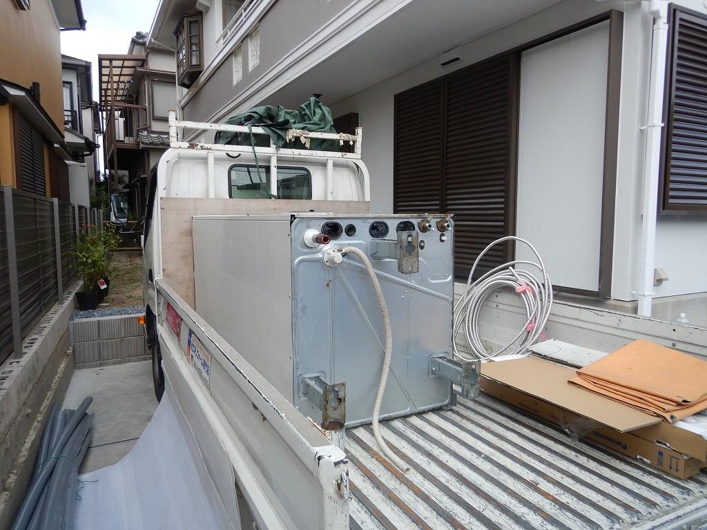 電温水器の撤去処分込み