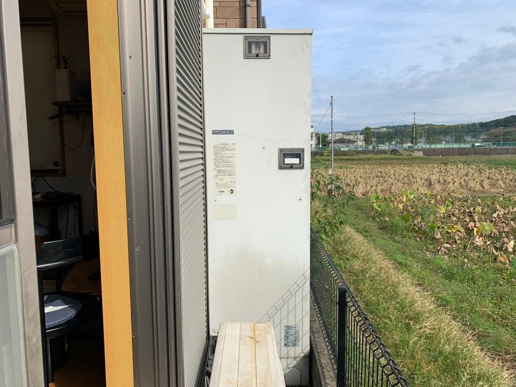 三菱 電気温水器の故障