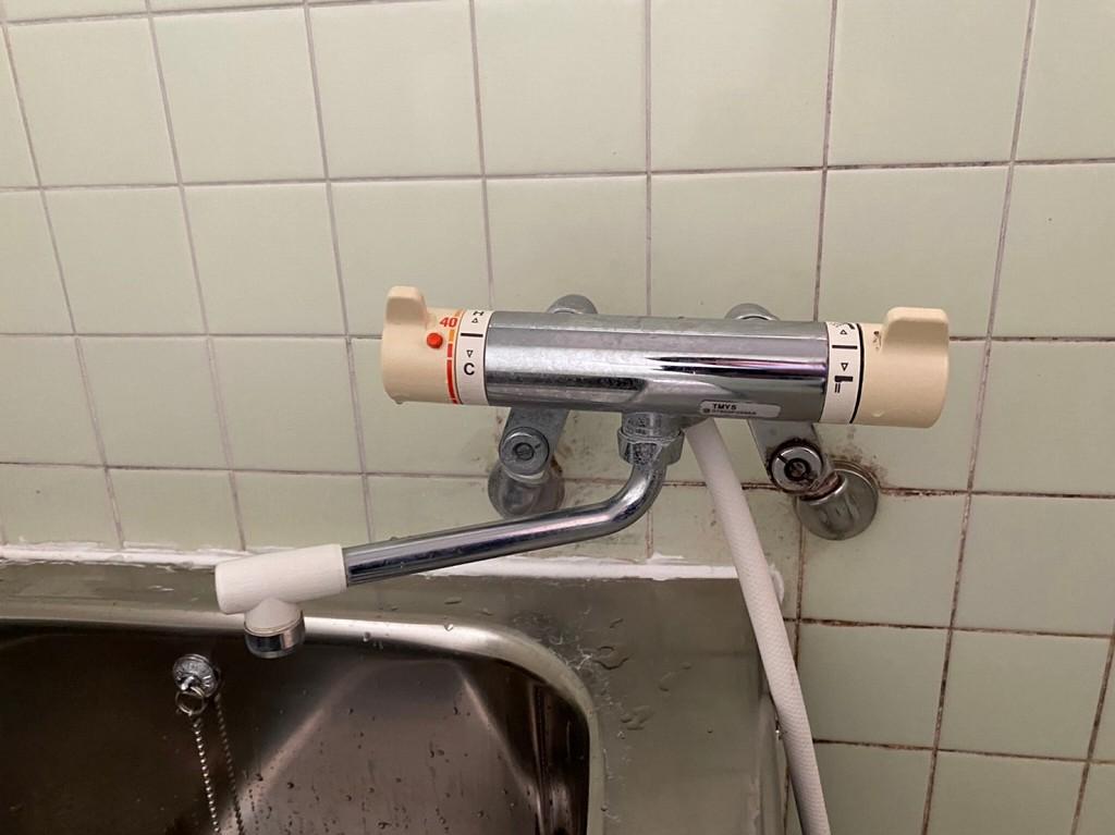 温度調整できないシャワー