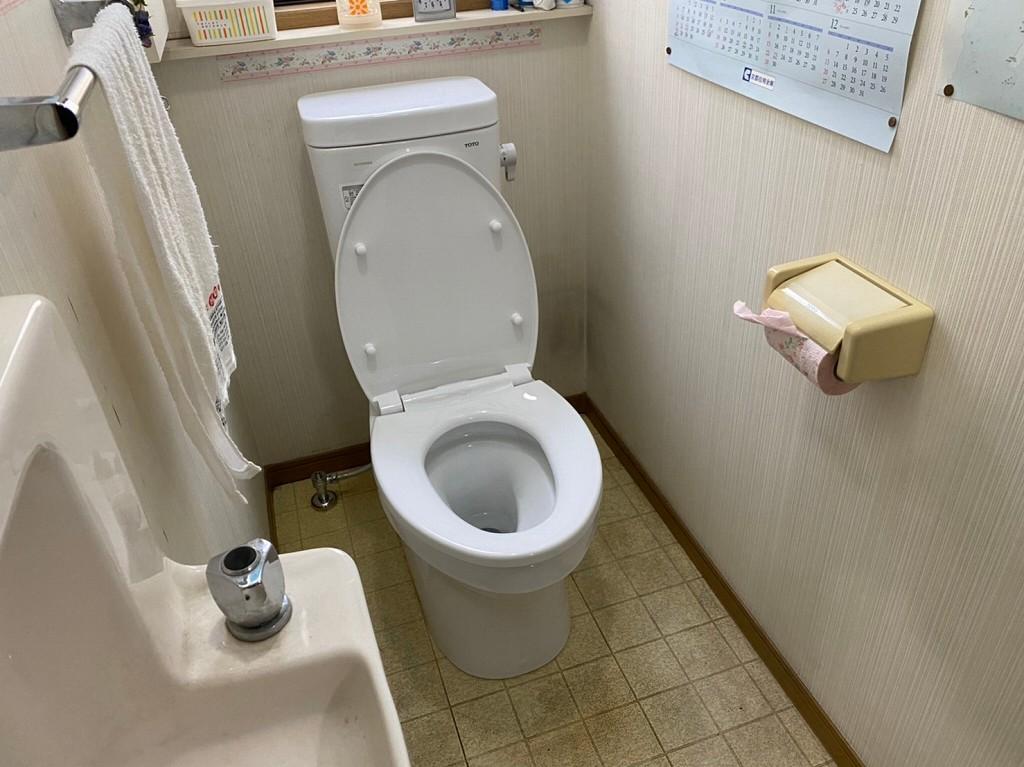 トイレを交換して節水