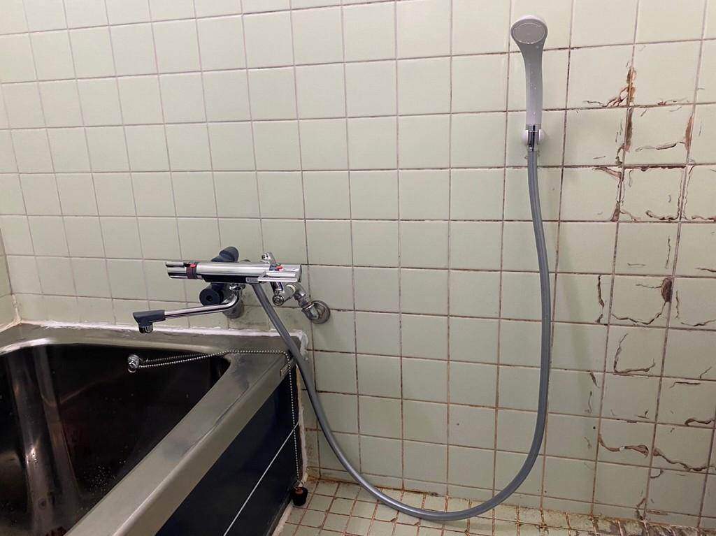 シャワー水栓の取替