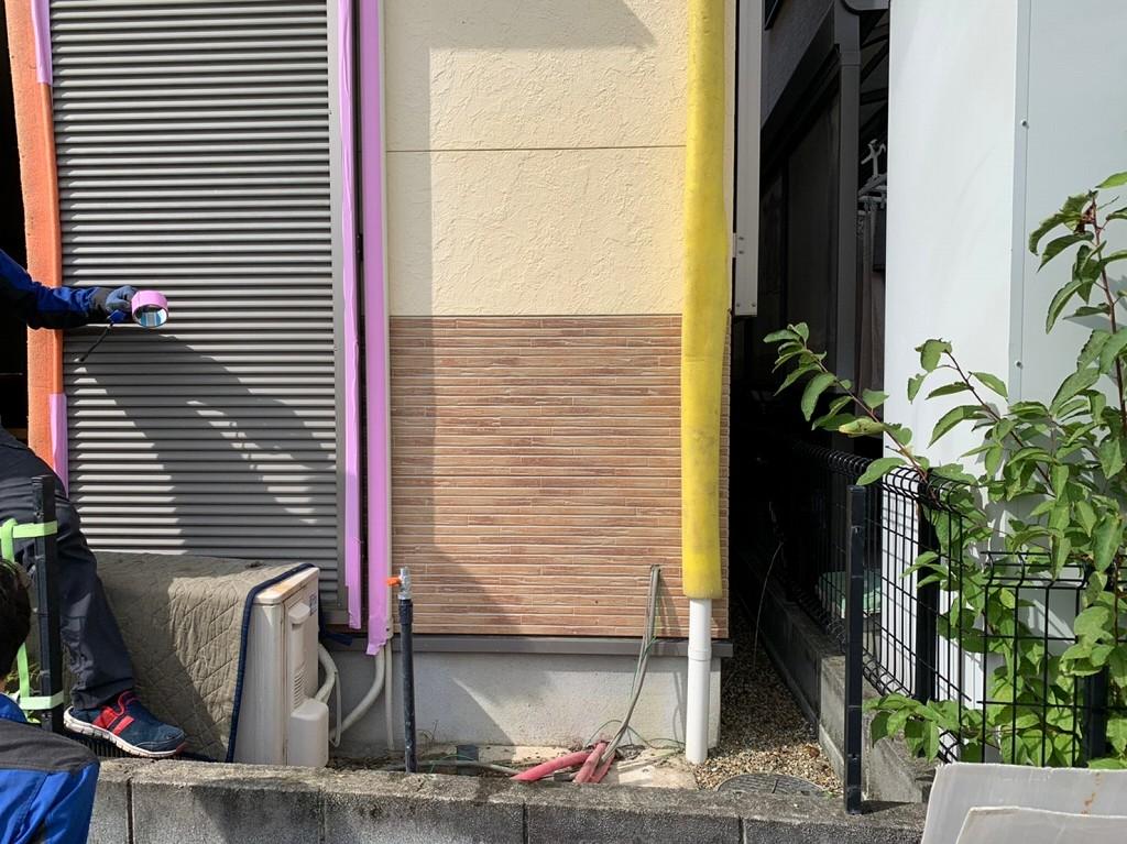 電気温水器の撤去