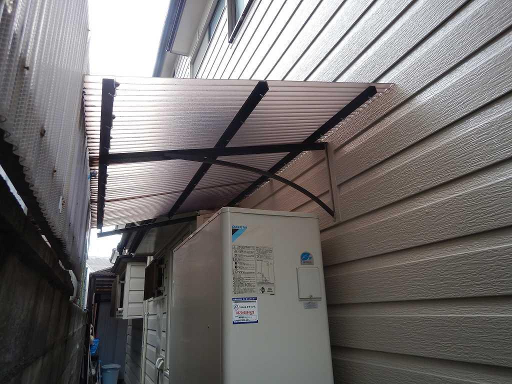 雨をよけるための屋根